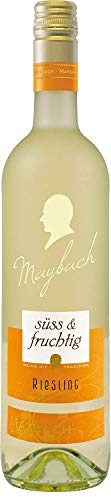 Maybach Riesling QbA Süß und Fruchtig (1 x 0.75 l)