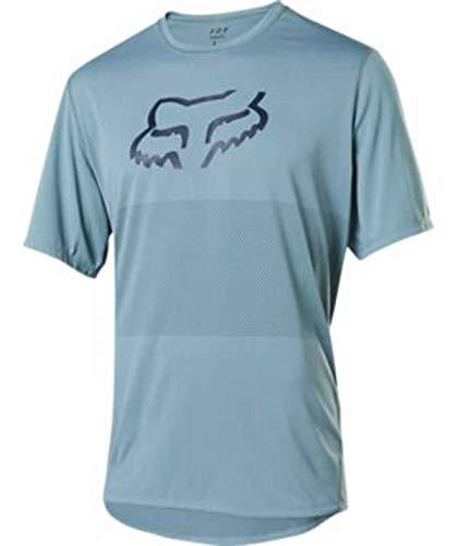 FOX MTB-Jersey Kurzarm Ranger Blau Gr. XL