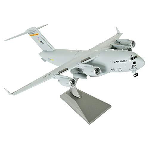 LoseFunPark 1:200 Modello di Aereo Militare US Air Force C17 Diescast Fighter Modello di Aereo da Caccia in Lega