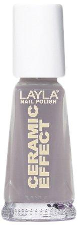Layla Cosmetics 1243R23-050 Ceramic Effect Nagellak - zoete betten, per stuk verpakt (1 x 0,01 l)