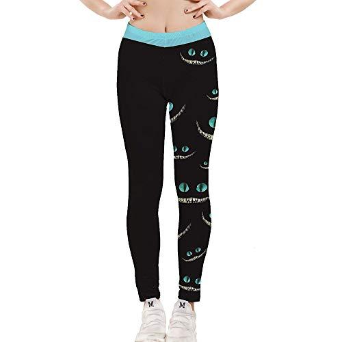 Hamrank Leggings for Women,3D Women's Printed Leggings Soft Popular Colorful Yoga Leggings