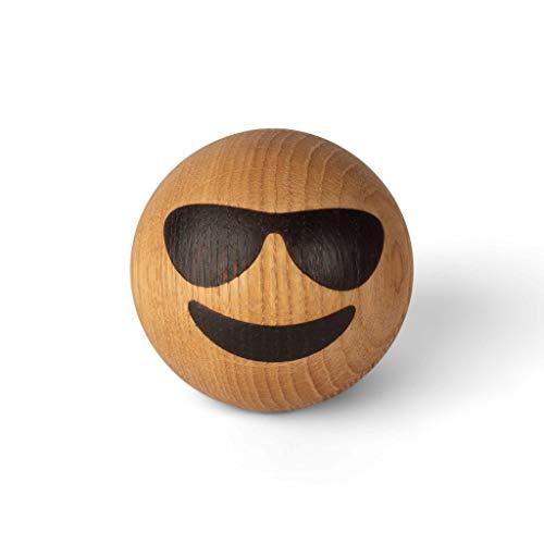 Spring Emotions | Cool | Gesicht mit Sonnenbrille | Holz Emoticons | mencke&vagnby | Spring Copenhagen