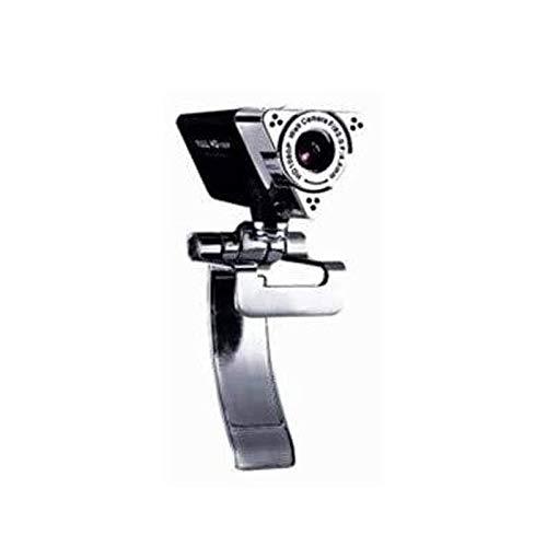 Faiol Webcam con micrófono 1080P, 180 grados giratoria |USB de escritorio y webcam del ordenador portátil, color automático de corrección de la cámara web de streaming de grabación adecuado for el hog