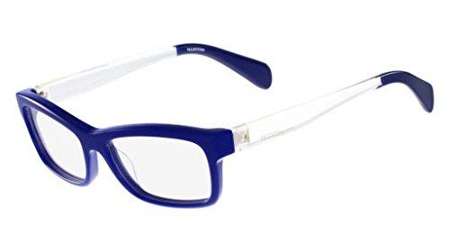 Valentino V2693 V2693 Rechteckig Brillengestelle 54, Blau