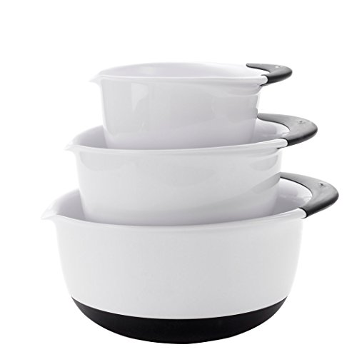 OXO Good Grips 3- Piece Mixing Bowl Set