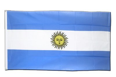Argentinien Flagge, argentinische Fahne 90 x 150 cm, MaxFlags®