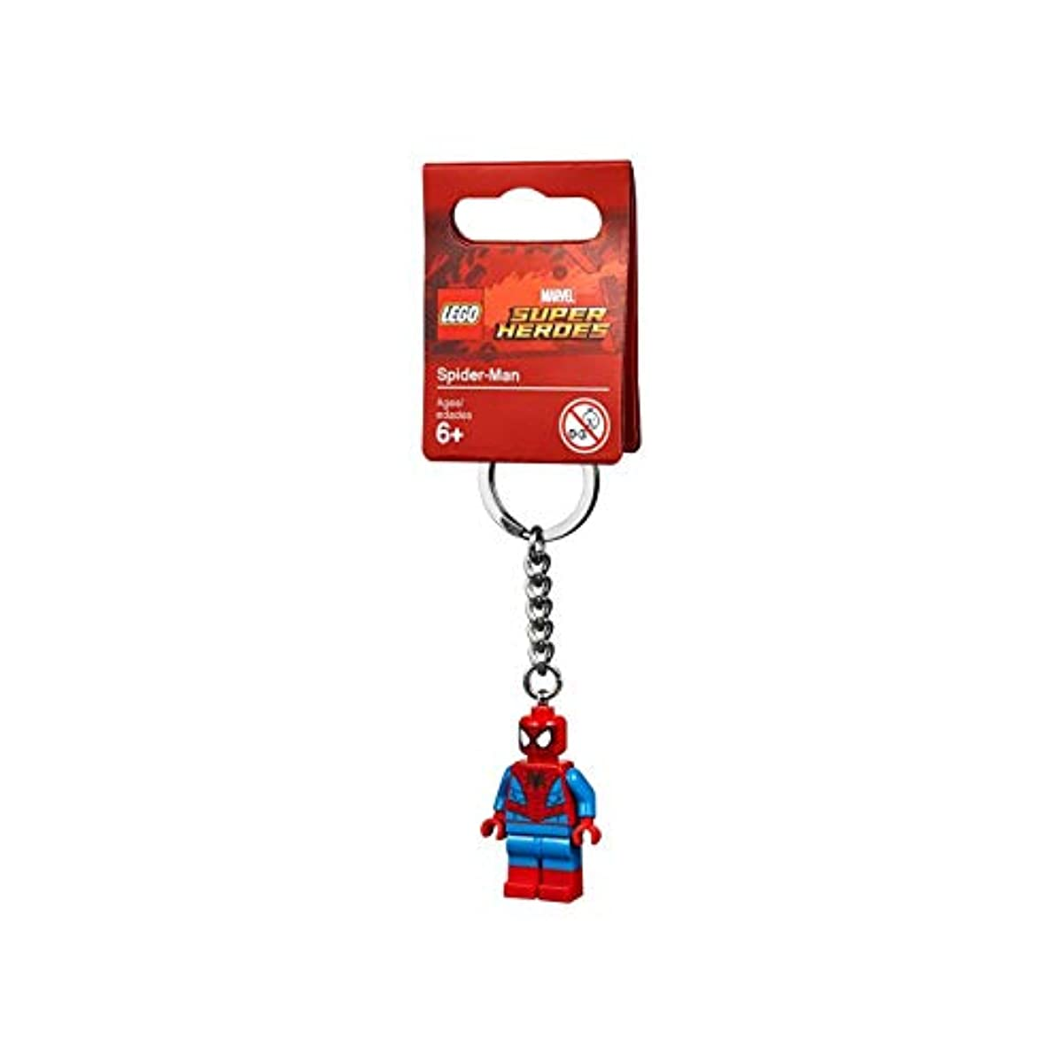 [해외] 레고(LEGO) 슈퍼히어로즈 스파이더맨 키체인 853950