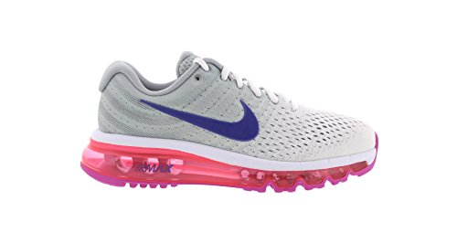 NIKE Womens Air Max 2017 Running Trainers 849560 Sneakers Shoes (UK 3.5 US 6 EU 36.5, White Concord Wolf Grey 146)