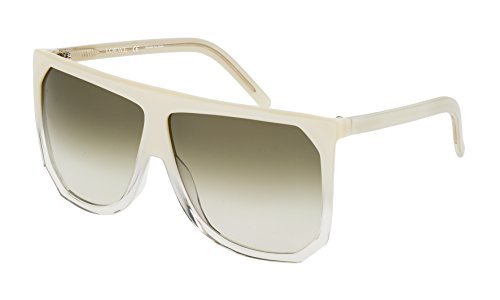 Loewe SLW9436303AD Gafas de sol, Pearl White/Shiny Flax, 63 para Mujer