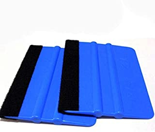 WHHHuan Film de Voiture d'enveloppe de Vinyle 1pc Installation d'outil d'emballage de Fibre de Carbone de Raccourci Automa...