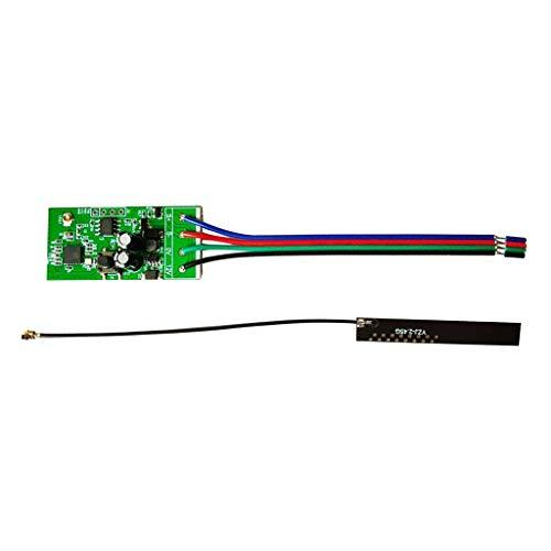 Shiwaki Interruptor inteligente para etiquetas Control remoto 12V Wifi relé cerradura electrónica sin llave Módulo de bloqueo de puerta Control de