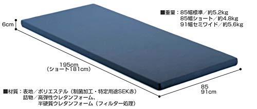 SM-28N弾性ウレタン薄型マットレス (超低床フロアベッド用) (85幅標準)