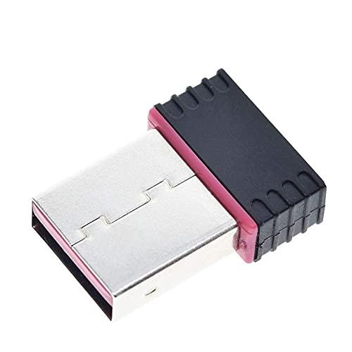 1 PZ USB WiFi Adapter Mini Adattatore Wireless Speed velocità Rapida Scheda LAN RTL8188 150m EM88