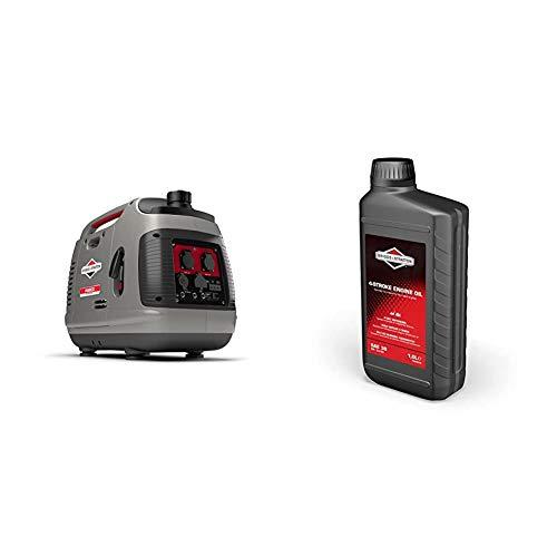 Groupe électrogène à onduleur portable à essence PowerSmart Series P2200 de Briggs & Stratton,...