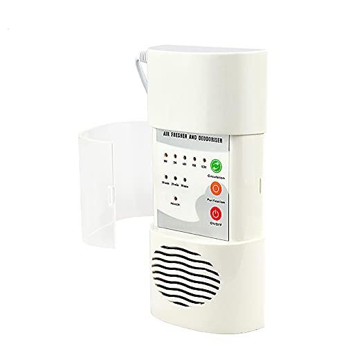 ATWFS Purificador de Aire Generador de Ozon Ionizador, 200 MG/h, Ozono Esterilización Filtros para Cocina, Sala de Mascotas, Sala de Fumadores Doméstico Purificador de Aire