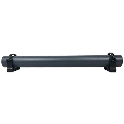 well2wellness® PVC Druckrohr 1m, 50mm, 10 bar inkl. Rohrschellen