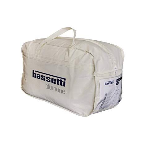 Bassetti Piumino Invernale + Primaverile in Microfibra 4 Stagioni Made in Italy, Una Piazza cm. 155x200
