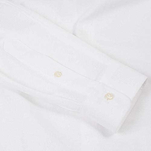 Ralph Lauren - Camisa blanca Knit Oxford para hombre blanco ...