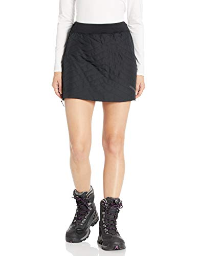 Craft Women's Storm Thermal Wind Protective Warm Nordic Snow Skiing Skirt, Black, Small