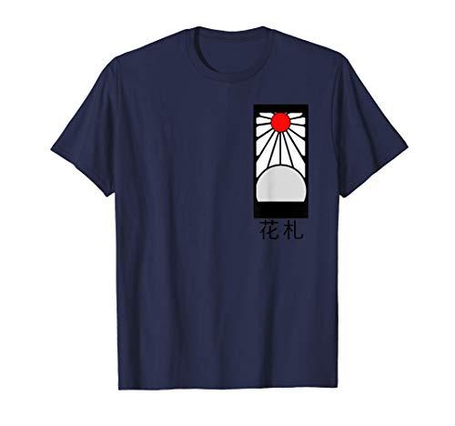 Hanafuda Ainme Merch Demon T Shirt Slayer Blumenkarte T-Shirt