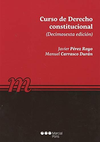 Curso de derecho constitucional (Manuales universitarios)
