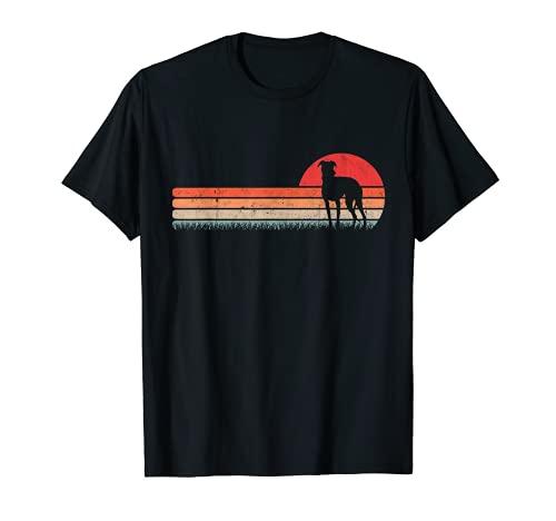 Lebrel Clásico Galgo Retro Whippet Camiseta