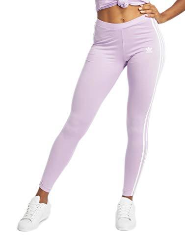 adidas Originals Damen Leggings 3 Stripes Purple (68) 36