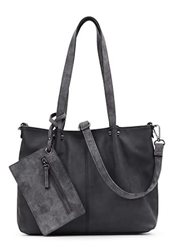 Emily & Noah Shopper Bag in Bag Surprise 299 Damen Handtaschen Uni black grey 108 One Size