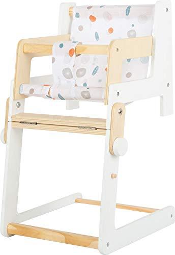 Small Foot 11814 Puppenhochstuhl Little Button, multifunktionaler und hochwertiger Kombihochstuhl, ab DREI Jahren Spielzeug