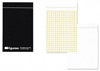 アピカ フィグラーレ 複写メモ 118×74 方眼罫 黒 ME511K / 10セット