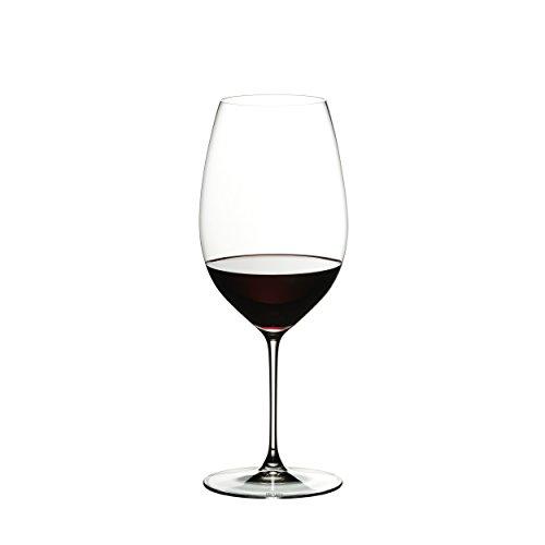 RIEDEL Rotweinglas-Set, 2-teilig, Für New World-Rotweine wie Shiraz, 650 ml, Kristallglas, RIEDEL Veritas, 6449/30