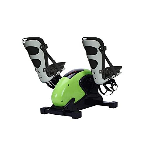 Bicicleta ejercitador de pedal para debajo del escritorio con pierna ajustable Mini bicicleta estática de escritorio con monitor digital LED, ejercitador de piernas para fisioterapia y ejercicio de