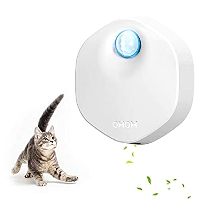 Pet Deodorate Litter Box Odor Genie, Auto On/Off, Way Better Than Deodorizer or Neutralizer, Reduce Litter Dust, for All Kinds Cat Toilet?Dog Toilet,Car?Wardrobe (White, Classic)