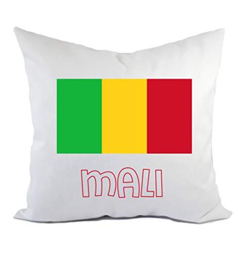 Typolitografie Ghisleri Kissen Mali Flagge Kissenbezug & Füllung 40 x 40 cm aus Polyester
