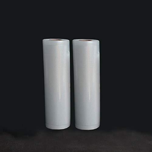 Purchase JINSUO LYDBM 2 Rolls/Lot Kitchen Food Vacuum Bag Storage Bags for Vacuum Sealer Vacuum Packaging Rolls 12/15/20/25/28cm500cm (Color : 20X500CM 2 Rolls)
