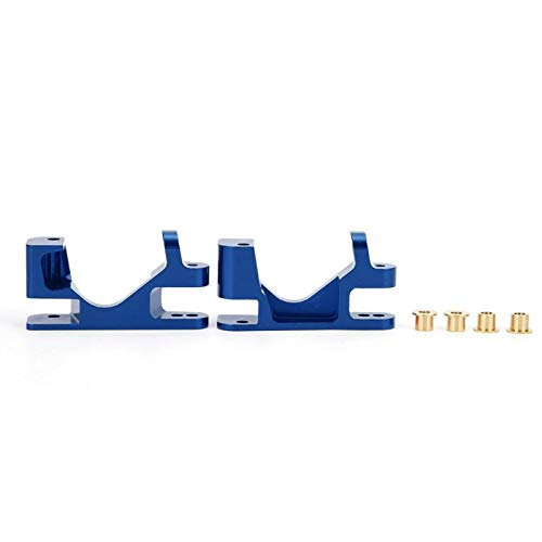 Portaequipajes Base C frontal resistente al desgaste con diseño innovador para Traxxas Slash 4X4 1/10 Truck RC(Navy blue)