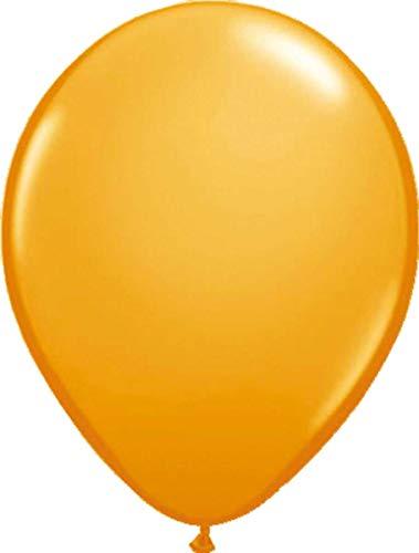 Folat 08105 Orangefarbene Ballons-30cm-100 Stück, Orange