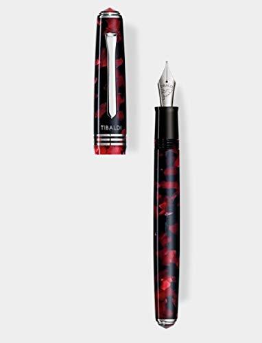 Penna stilografica Tibaldi N60 rosso rubino F