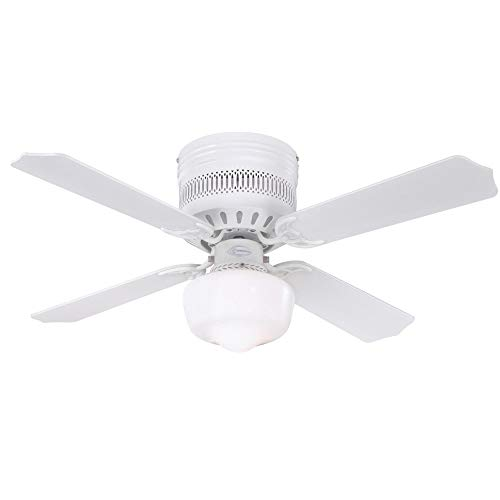 ace ceiling fans Westinghouse Lighting 7231200 Casanova Supreme Indoor Ceiling Fan with Light, 42 Inch, White