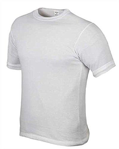 Leo Köhler BW Unterhemd 1/2 Arm Original Weiß Größe:6 (L)