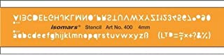 FineArt Lettering Guide Drawing Template Stencil 4mm