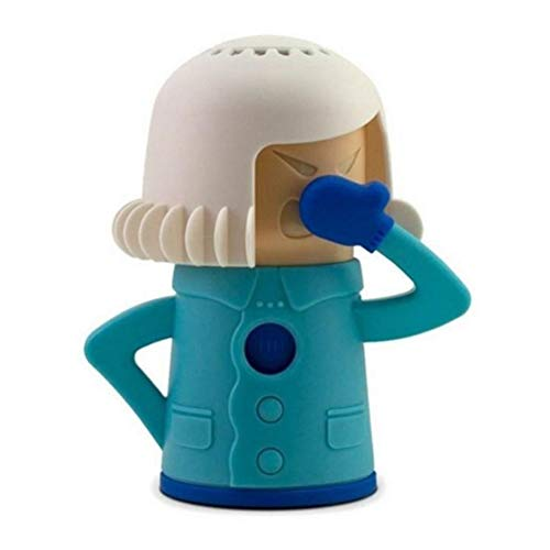 Limpiador de microondas limpio, Mama Microwave Cleaner Fridge desodorante Oven Steam Odor Absorber Freezer Odor Freshener Kitchen Cleaning Tool (azul)