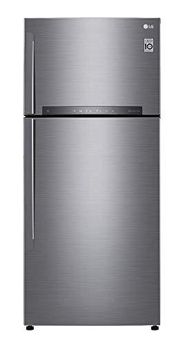 Réfrigérateur congélateur haut LG GTD7850 - Réfrigérateur 2 portes Inox 506 Litres - Total No Frost - Compresseur linéaire Inverter - Contrôle Wifi - Fabrique de glaçons