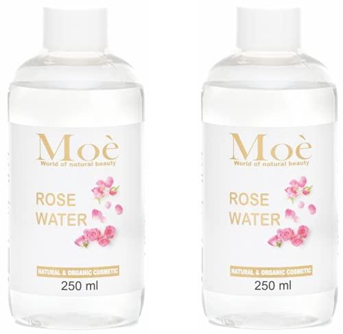 TestSieger 2021 - Agua de rosas (500 ml, producto natural, sin alcohol ni conservantes)