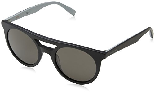Boss Orange BO 0266, Gafas de sol Unisex - Adulto, BLK HVNAGREY WITH BRW GREY LENS, 51 mm