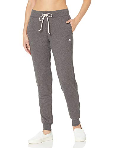 Champion Women's French Terry Jogger, Granite Heather, S