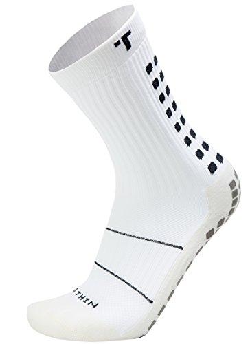 Trusox TSMSWHL Herren kurze Socken, Weiß / Schwarz, L (44+)
