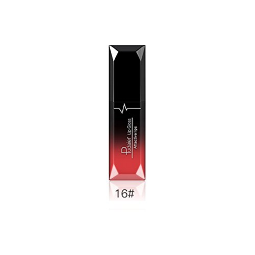 Babysbreath17 Pudaier Flüssiger Long-Lasting Lipstick Matte Lipgloss, Liquid Lippenstift, Lipgloss Silky Attraktive Lippenstift Kosmetik für die Lippen