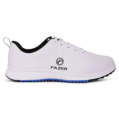 FAZER Ventura White Spikeless Golf Shoes - Size 10