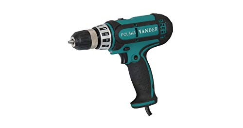 VANDER VWE740 - Taladro Atornillador, Taladro Percutor con Cable (450W | Velocidad: 0-950 1/min | Frecuencia de Impacto: 0-26400 1/min | Par Máx: 28 Nm | Mandril: 10mm)